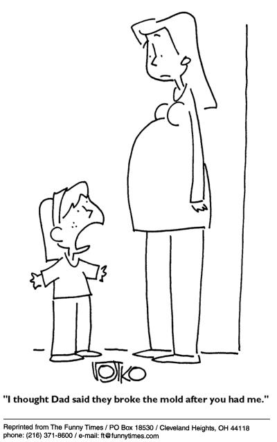 Funny kids Robert Vojtko  cartoon, September 29, 2004