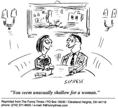 Funny David Sipress man  cartoon, October 20, 2004