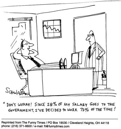 Funny work office Harley  cartoon, December 01, 2004