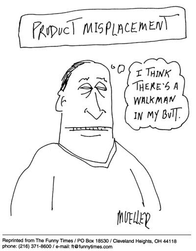 Funny mueller surreal PS  cartoon, April 20, 2005