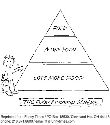 Funny food john grimes  cartoon, October 05, 2005