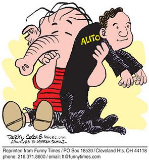 Funny 2006 judge alito  cartoon, January 12, 2006