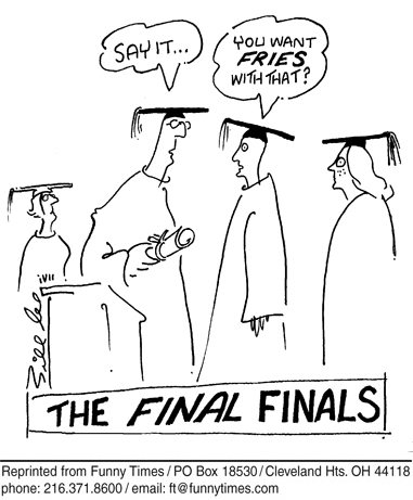 Funny student Bill Lee cartoon, June 28, 2006