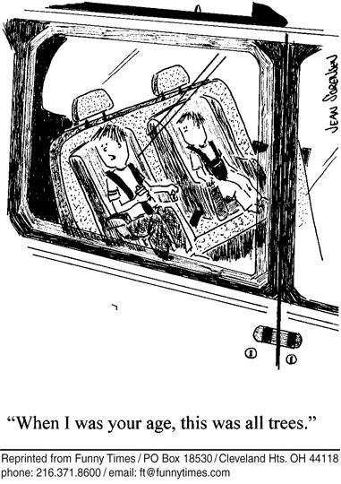 Funny kids sorensen Jean  cartoon, November 08, 2006