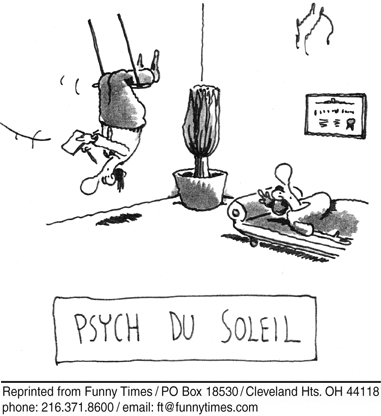 Funny psychology cirque de  cartoon, January 03, 2007