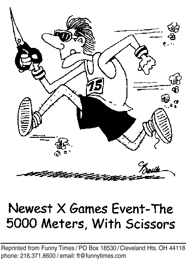 Funny sports team danger  cartoon, January 17, 2007