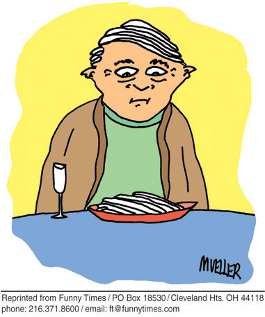 Funny mueller surreal PS  cartoon, January 31, 2007