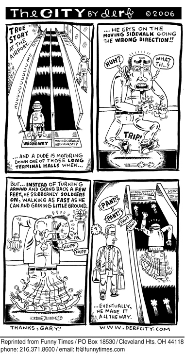 Funny derf backderf city  cartoon, February 21, 2007