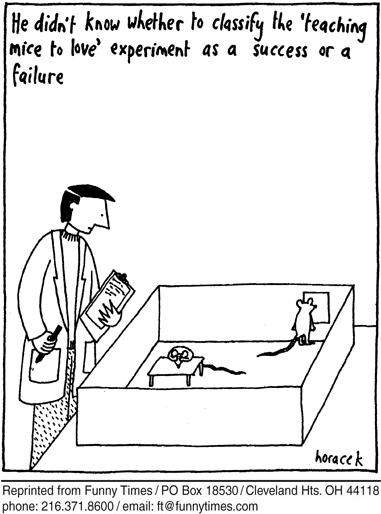 Funny marriage horacek love  cartoon, March 07, 2007