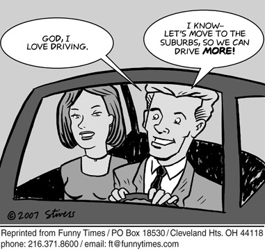 Funny stivers Mark cars  cartoon, July 11, 2007