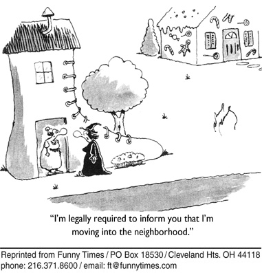 Funny house sex sale  cartoon, August 15, 2007