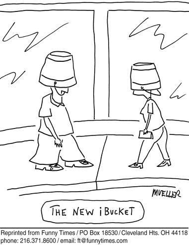 Funny mueller surreal life  cartoon, September 19, 2007