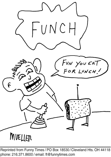 Funny food energy mueller  cartoon, October 24, 2007