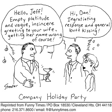 Funny streeter office man  cartoon, December 05, 2007