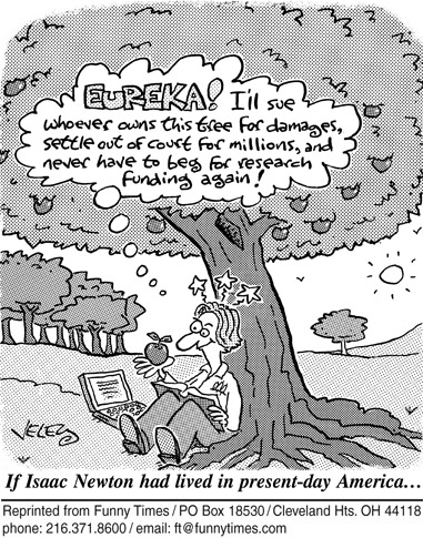 Funny death veley tree  cartoon, April 23, 2008