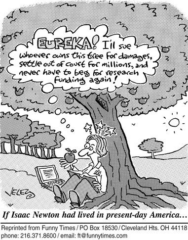 Funny death veley tree cartoon, April 23, 2008