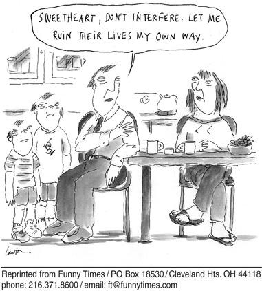 Funny kids parents family  cartoon, May 14, 2008