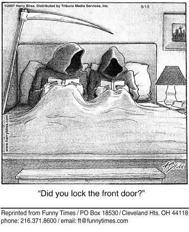 Funny death vampires grim  cartoon, May 21, 2008