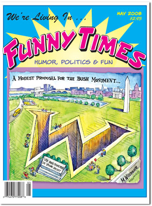 Funny Times May 2008 issue cover
