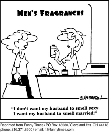 Funny marriage love men  cartoon, July 23, 2008