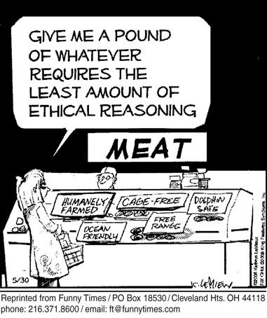 Funny food consumer diet cartoon, October 22, 2008