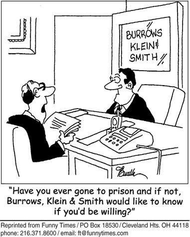 Funny work teacher office  cartoon, December 03, 2008