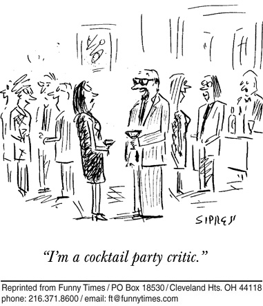 Funny work Sipress parties  cartoon, April 29, 2009