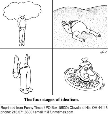 Funny stages head cloud cartoon, July 01, 2009