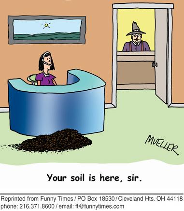 Funny mueller work office  cartoon, January 13, 2010