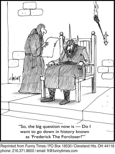 Funny cheney work history  cartoon, January 20, 2010