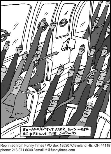 Funny school cool university cartoon, February 03, 2010