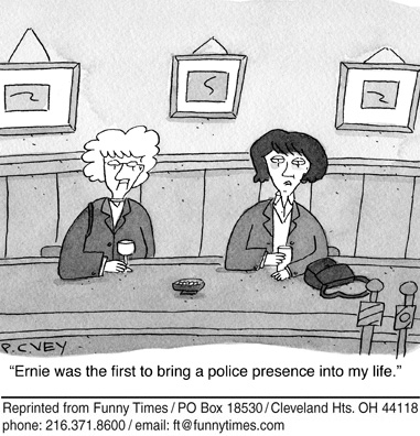 Funny school education adult  cartoon, February 10, 2010