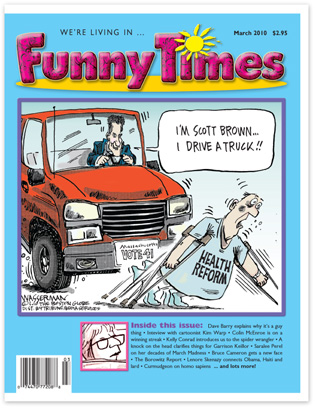 Funny Times March 2010 issue cover