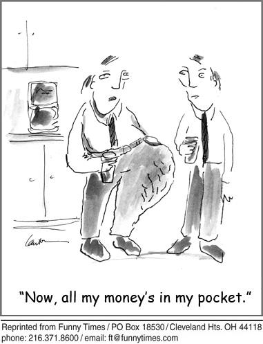 Funny global economic slump  cartoon, April 21, 2010