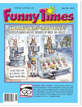 Funny Times May 2010 issue cover