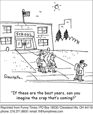 Funny Schwadron school education  cartoon, June 09, 2010