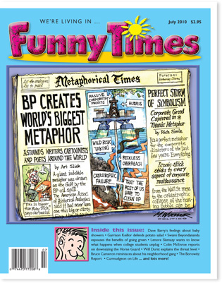 Funny Times July 2010 issue cover