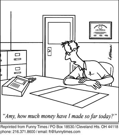 Funny work poor education cartoon, October 20, 2010