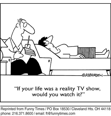 Funny food Glasbergen television  cartoon, November 10, 2010