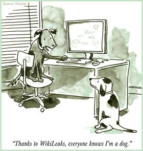 Wheeler - Wikileaks Dog