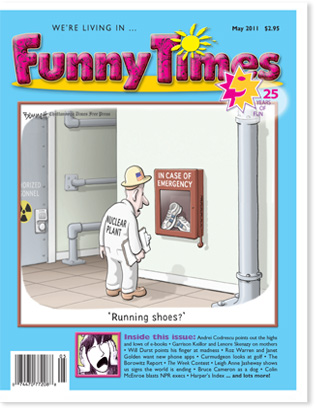 Funny Times May 2011 Issue cover