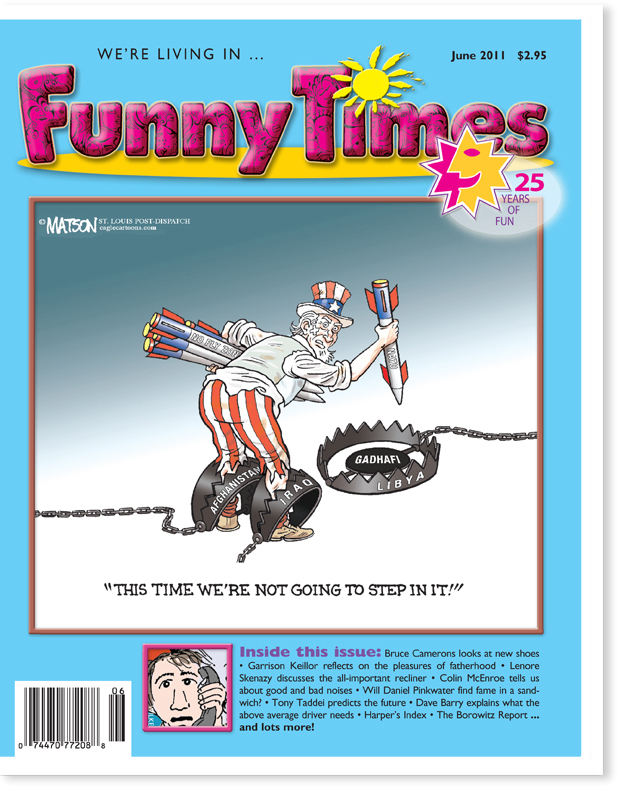 Funny Times June 2011 Issue – The Funny Times