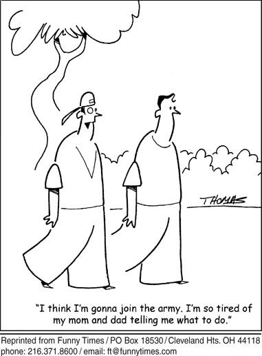 Funny parents mom dad cartoon, July 20, 2011