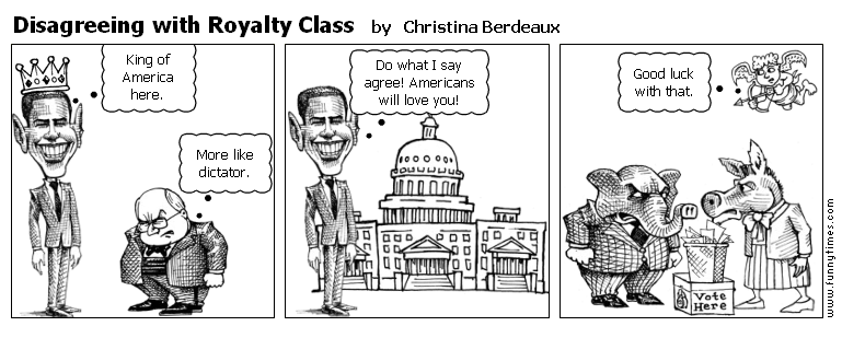 Disagreeing with Royalty Class by Christina Berdeaux