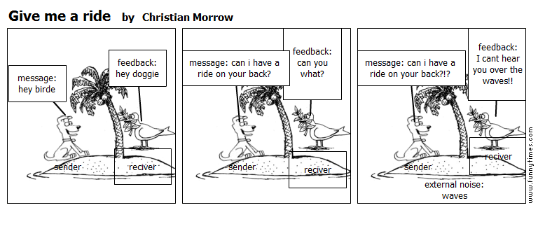 Give me a ride by Christian Morrow