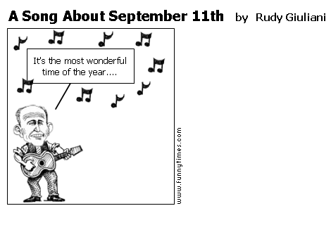 A Song About September 11th by Rudy Giuliani