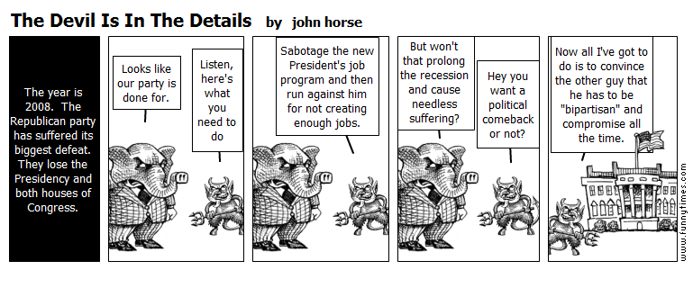 The Devil Is In The Details by john horse