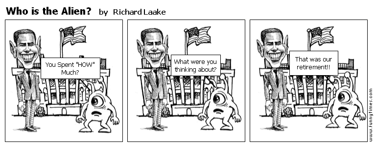 Who is the Alien by Richard Laake