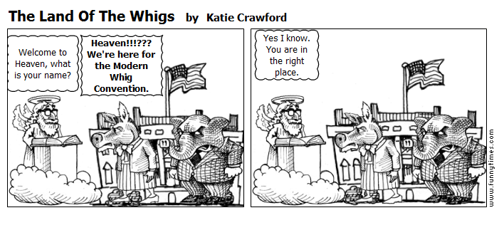 The Land Of The Whigs by Katie Crawford