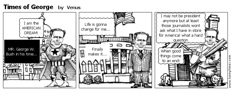 Times of George by Venus